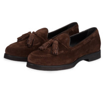 Tassel-Loafer - braun