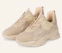 Plateau-Sneaker MOVEMENT - BEIGE