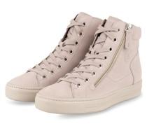 Hightop-Sneaker - HELLGRAU