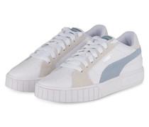 Plateau-Sneaker - WEISS/ BLAUGRAU/ CREME