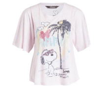 T-Shirt SNOOPY - mocca
