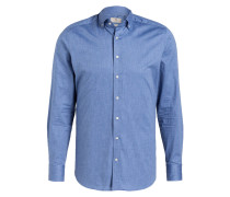 Oxfordhemd Slim-Fit - blau