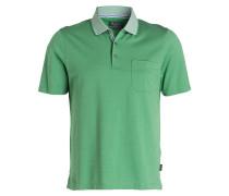 Jersey-Poloshirt Regular-Fit - grün