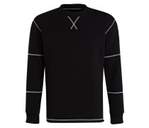 Sweatshirt COUNT - schwarz/ weiss