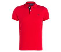 Piqué-Poloshirt - rot