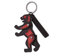 Schlüsselanhänger POMONA B2 - schwarz/ rot