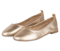 Ballerinas - gold