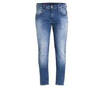 Destroyed-Jeans ANBASS HYPERFLEX Slim-Fit