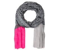Schal - grau/ pink