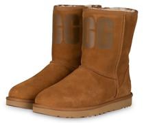 Boots CLASSIC SHORT - COGNAC