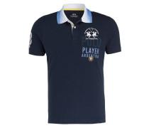 Piqué-Poloshirt BRAM Regular-Fit - marine
