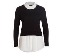 Pullover MARYLOU BIS - schwarz/ ecru