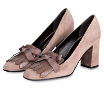 College-Pumps KAREN - rosewood