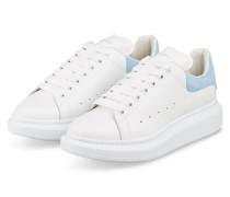 Plateau-Sneaker - WEISS/ HELLBLAU