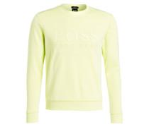 Sweatshirt SALBO Slim-Fit - neongrün