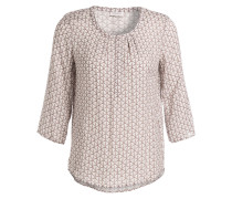 Bluse 3/4-Arm - taupe/ sand