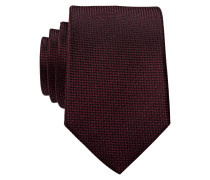 Krawatte - burgunder