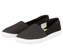 Slip-on-Sneaker ROSE - schwarz