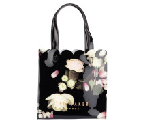 Shopper YARACON - schwarz/ grün/ rosa