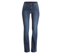 Bootcut-Jeans LUCI - blau