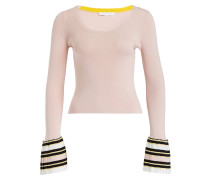 Pullover - rosa/ schwarz/ weiss