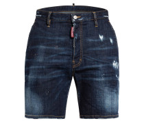 Destroyed Jeans-Shorts