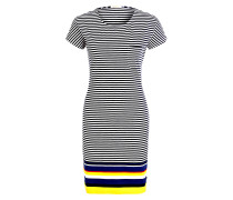 Kleid HAREWOOD - navy/ gelb/ weiss