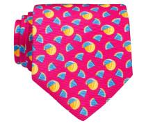 Krawatte - pink/ blau/ orange