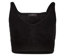 Strick-Cropped-Top
