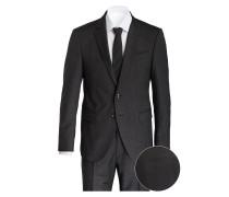 Anzug HERBY-BLAYR Slim-Fit - dunkelgrau