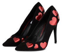 Pumps BELOVED - schwarz/ rot