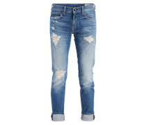 Destroyed-Jeans DRE - blau