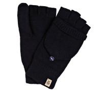 Handschuhe mit Kapuze - navy