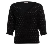 Pullover CHRISTINE mit Perlenbesatz