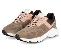 Plateau-Sneaker - TAUPE/ HELLROSA