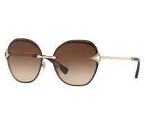 Sonnenbrille BV6111B mit Schmucksteinbesatz