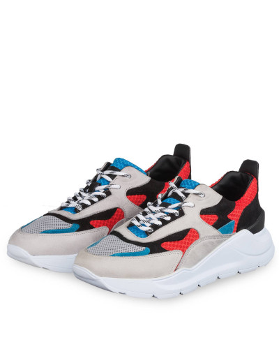 Sneaker FUGA - BEIGE/ SCHWARZ/ ROT