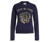 Sweatshirt HEAR ME ROAR - dunkelblau