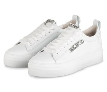 Plateau-Sneaker BIG mit Schmucksteinbesatz