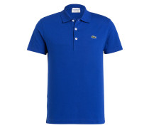 Piqué-Poloshirt Slim-Fit - royal