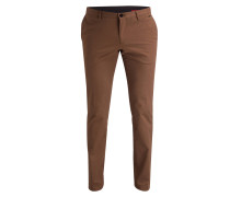 Chino C-STANINO Slim-Fit - braun