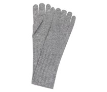 Fingerhandschuhe aus Cashmere