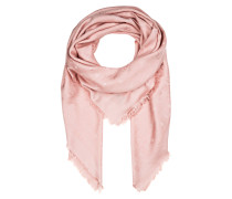 Tuch mit Seidenanteil - rosa