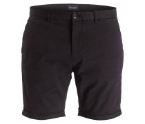 Chino-Shorts - schwarz
