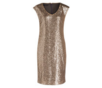 Kleid mit Paillettenfront