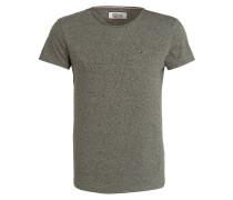 T-Shirt - dunkelgrün meliert