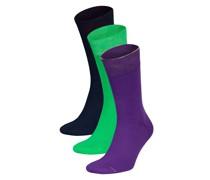 3er-Pack Socken DREI MIT KLASSE
