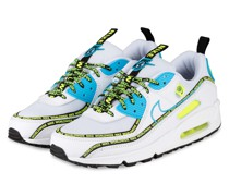 Sneaker AIR MAX 90 - WEISS/ SCHWARZ/ BLAU