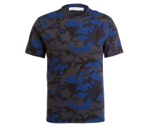 T-Shirt - marine/ royal/ anthrazit