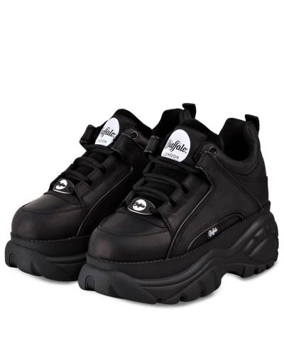 Plateau-Sneaker CLASSIC KICK - SCHWARZ
